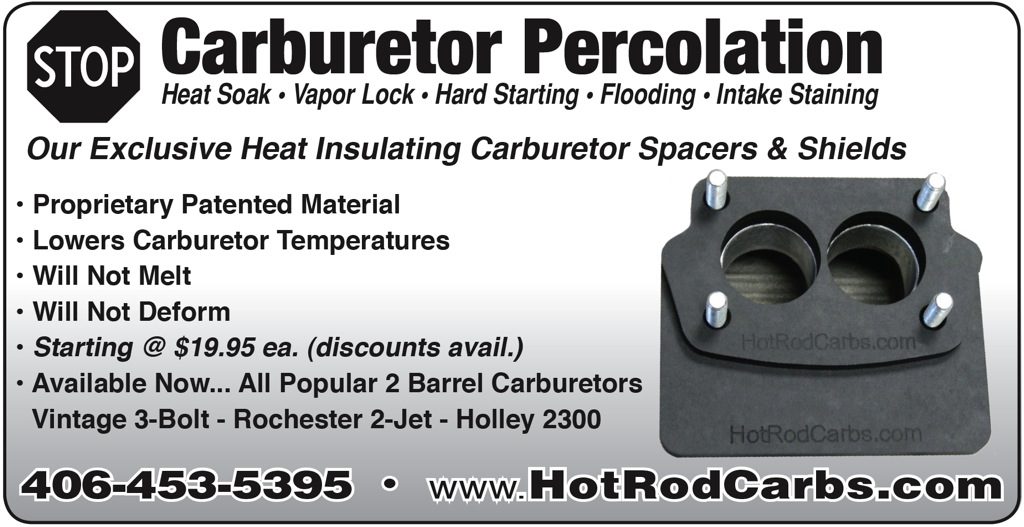 HotRodCarbs.com - Carb Insulator Spacers & Shields-1