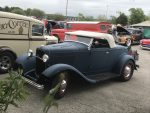 Blue 1932 Roadster