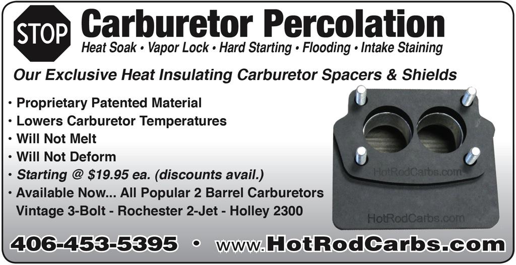 HotRodCarbs.com - Carb Insulator Spacers & Shields-1